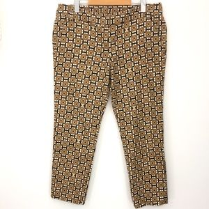 Tory Burch Graphic Cropped Pants